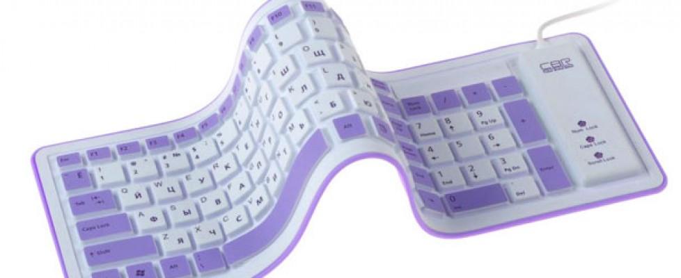 Гибкая клавиатура CBR KB 1002D
