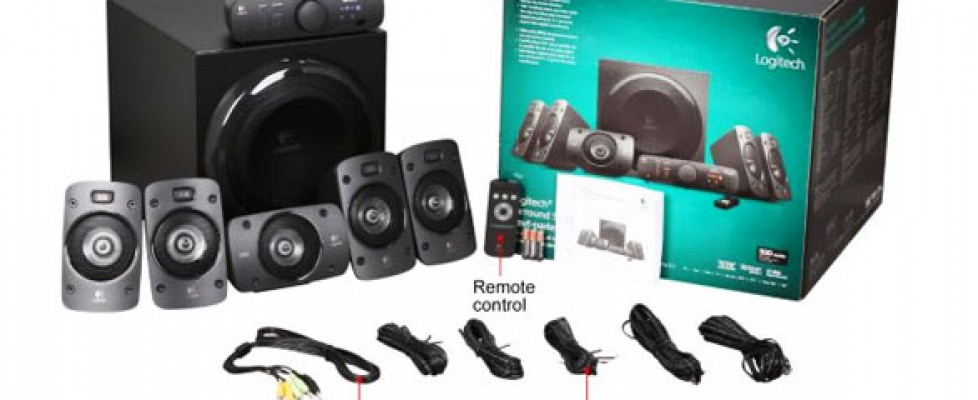 Колонки Logitech Surround Sound Speakers Z906