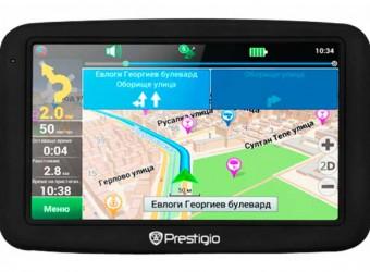 Prestigio Geovision 5055 — хороший навигатор за разумные деньги
