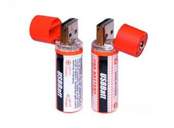 USB аккумуляторная батарейка